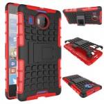 Антиударный силиконовый чехол экстрим защита с подставкой для Microsoft Lumia 950 XL
