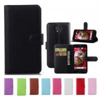 Чехол портмоне подставка с защелкой для ASUS Zenfone C