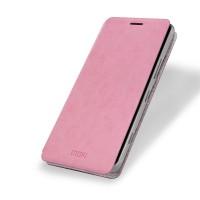 Чехол флип подставка водоотталкивающий для Microsoft Lumia 950 Розовый