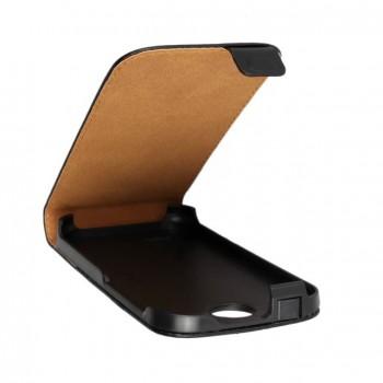 Чехол вертикальная книжка на пластиковой основе с магнитной застежкой для HTC Desire 310