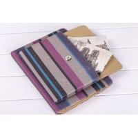 Многофункциональный тканевый дизайнерский чехол/сумка подставка с рамочной защитой экрана, ручкой для переноски и экстра отсеком для Ipad Mini 4 Пурпурный