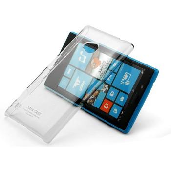 Пластиковый транспарентный чехол для Nokia Lumia 720