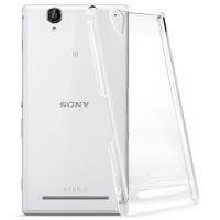 Пластиковый транспарентный чехол для Sony Xperia T2 Ultra