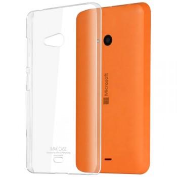 Пластиковый транспарентный чехол для Nokia Lumia 540