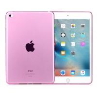 Силиконовый матовый полупрозрачный чехол для Ipad Mini 4 Розовый