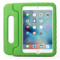 Противоударный детский силиконовый чехол с ручкой для планшета Ipad 2/3/4 Зеленый