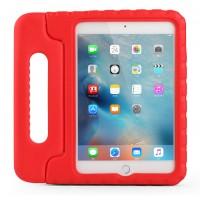 Противоударный детский силиконовый чехол с ручкой для планшета Ipad Mini 1/2/3 Красный