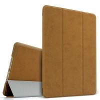 Винтажный чехол флип подставка сегментарный для Ipad Mini 4 Бежевый