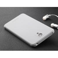 Антиударный нанотонкий 0.8 мм силиконовый матовый непрозрачный усиленный чехол для Xiaomi RedMi Note 2 Серый