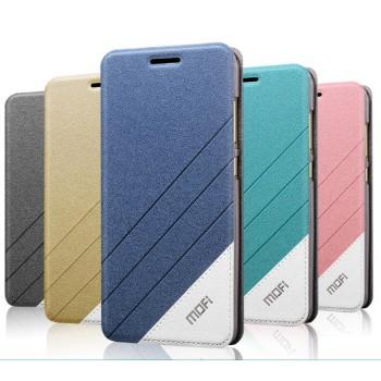 Текстурный дизайнерский чехол флип на силиконовой основе для ZTE Blade X9