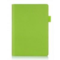 Чехол подставка с рамочной защитой экрана и внутренними отсеками для Lenovo Yoga Tab 3 8 Зеленый