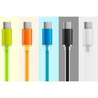 Сверхпрочный силиконовый кабель USB 3.1 type-C 1 м с LED-индикацией процесса зарядки для Samsung Galaxy Grand (Duos, GT-I9080, GT-I9082, I9080, i9082)