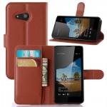 Чехол портмоне подставка с защелкой для Microsoft Lumia 550