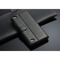 Глянцевый чехол портмоне подставка с защелкой для Lenovo Vibe X2