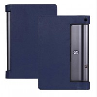Чехол подставка с рамочной защитой экрана для Lenovo Yoga Tab 3 10 Синий