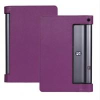 Чехол подставка с рамочной защитой экрана для Lenovo Yoga Tab 3 10 Фиолетовый