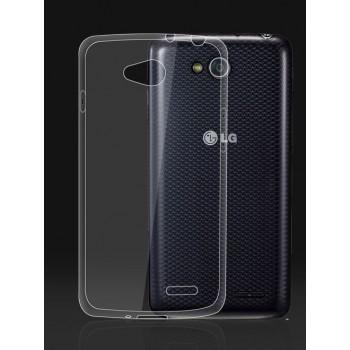 Силиконовый транспарентный чехол для LG L90