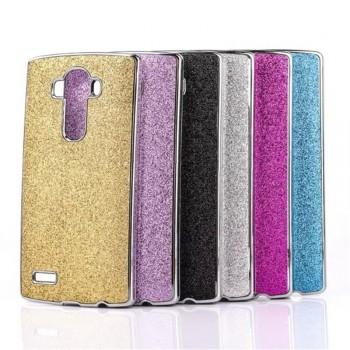 Дизайнерский поликарбонатный чехол текстура Золото для LG G4 S