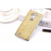 Дизайнерский поликарбонатный чехол текстура Золото для LG G4 S Бежевый