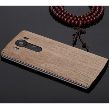 Клеевая натуральная деревянная накладка для LG V10