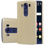 Пластиковый матовый нескользящий премиум чехол для LG V10