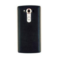 Встраиваемая поликарбонатная крышка с кожаным покрытием, встроенным NFC и функцией беспроводной зарядки для LG V10 Синий