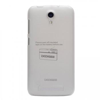 Пластиковый матовый полупрозрачный чехол для Doogee Valencia2 Y100 Pro