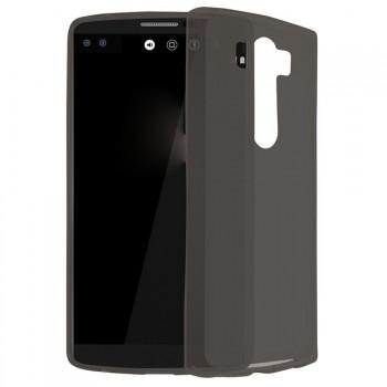 Силиконовый матовый полупрозрачный чехол для LG V10