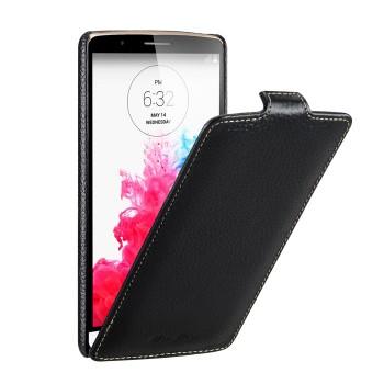 Кожаный чехол вертикальная книжка для LG G3 S