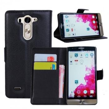 Чехол портмоне подставка с защелкой для LG G3 S
