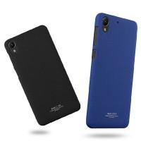 Пластиковый матовый чехол с повышенной шероховатостью для HTC Desire 728
