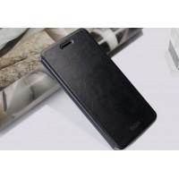 Чехол флип подставка водоотталкивающий для HTC Desire 728 Черный