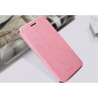 Чехол флип подставка водоотталкивающий для HTC Desire 728 Розовый