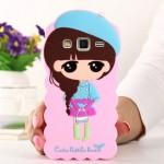 Силиконовый дизайнерский фигурный чехол серия Autumn style для Samsung Galaxy J7