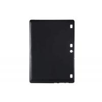 Силиконовый матовый непрозрачный чехол для Lenovo Tab 2 A10-70/Tab 3 10 Business Черный