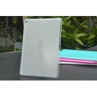 Силиконовый матовый полупрозрачный чехол для ASUS ZenPad 10 Белый