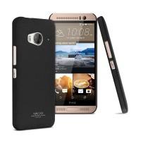 Пластиковый матовый чехол с повышенной шероховатостью для HTC One ME Черный