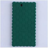 Силиконовый дизайнерский фигурный чехол для Sony Xperia Z Ultra Зеленый
