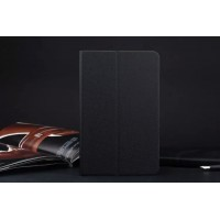 Текстурный чехол подставка на силиконовой основе для ASUS ZenPad 8 Черный