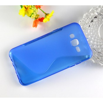 Силиконовый матовый чехол с нескользящей текстурой S для Samsung Galaxy J7