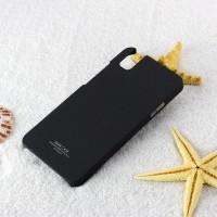 Пластиковый матовый непрозрачный чехол с повышенной шероховатостью для Huawei ShotX Черный