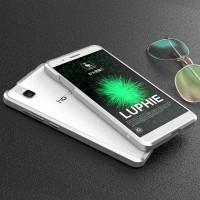 Металлический округлый бампер сборного типа для Huawei ShotX Белый