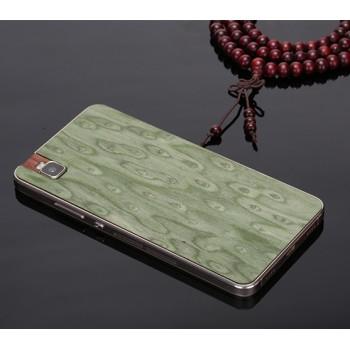 Клеевая натуральная деревянная накладка для Huawei ShotX