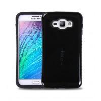 Эргономичный силиконовый непрозрачный чехол с нескользящими гранями для Samsung Galaxy J7