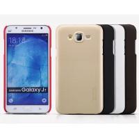 Пластиковый матовый нескользящий премиум чехол для Samsung Galaxy J7