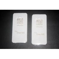 Силиконовый транспарентный чехол для HTC One ME