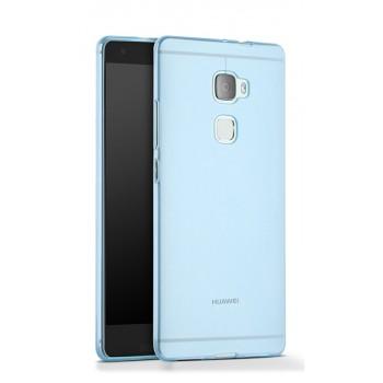 Силиконовый глянцевый полупрозрачный чехол для Huawei Mate S