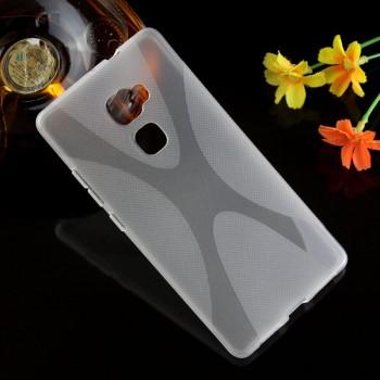 Силиконовый матовый чехол с нескользящей текстурой X для Huawei Mate S