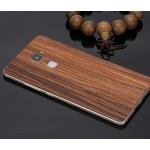 Клеевая натуральная деревянная накладка для Huawei Mate S