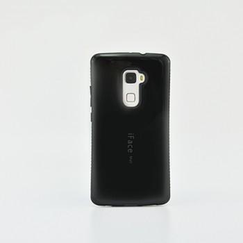 Эргономичный силиконовый непрозрачный чехол с нескользящими гранями для Huawei Mate S